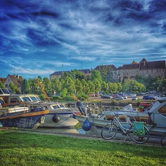 #Saverne, son port de plaisance qui mène au canal de la Marne au Rhin • #new #igersfrance #alsace - Photo of Mittelbronn