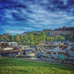 #Saverne, son port de plaisance qui mène au canal de la Marne au Rhin • #new #igersfrance #alsace - Photo of Vilsberg