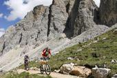Bike-Alpenüberquerung Zillertal-Dolomiten, Dolomiten-Cross. Foto: Centurion.