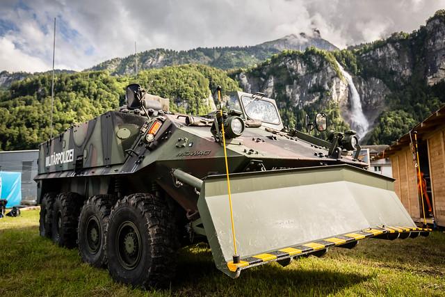 Mowag Piranha II - Militärpolizei