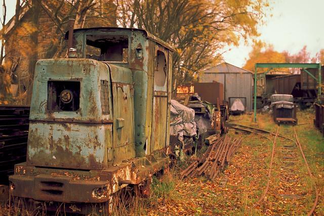 Tanfield Railway Hidden Narrow Gauge