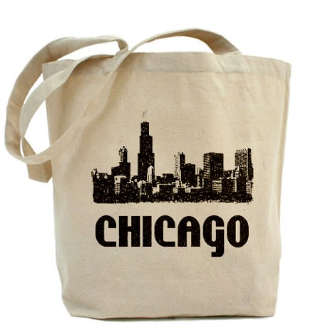 chicago_skyline_vintage_reusable_canvas_tote_bag