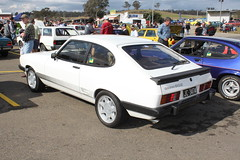 automobile, vehicle, compact car, ford capri, sedan, land vehicle, coupã©, sports car,
