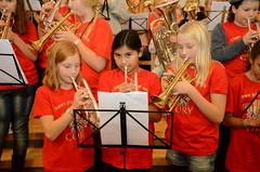 Övning inför Massed Band