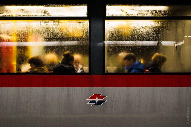 Project 365: #322 - Rainy Commute