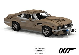 Aston Martin V8 Vantage - James Bond (1986)