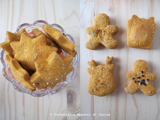 Biscotti al pecorino e paprika