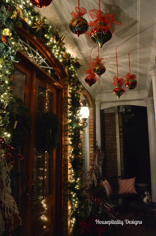 Christmas 2014 Front Porch-Housepitality Designs