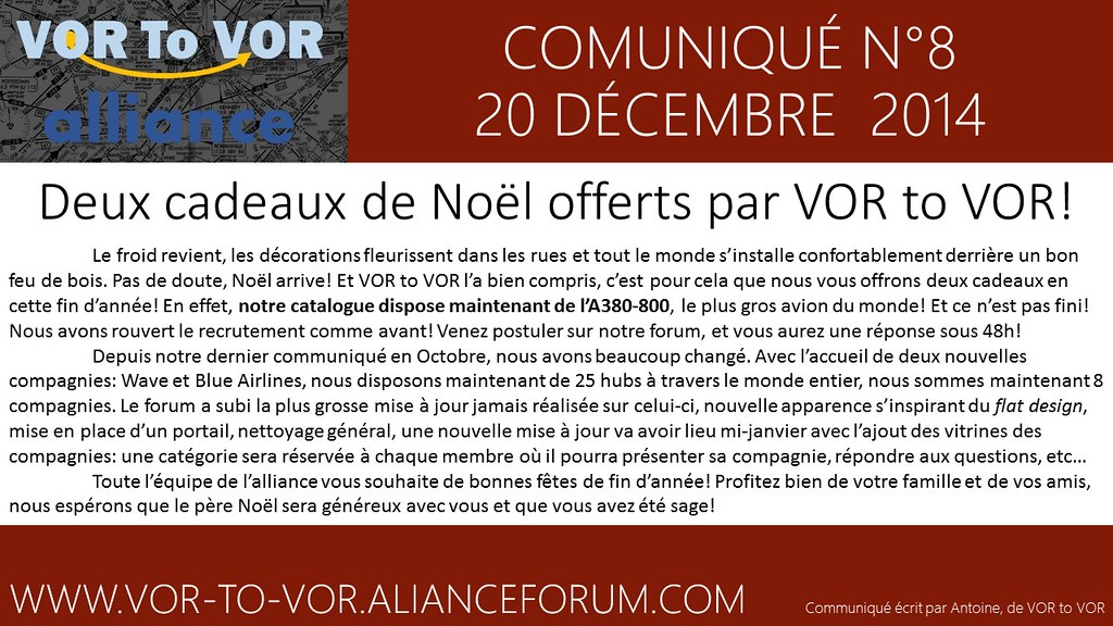 communiqué n°8 - 20 décembre 2014 15452666403_6459a9e428_b