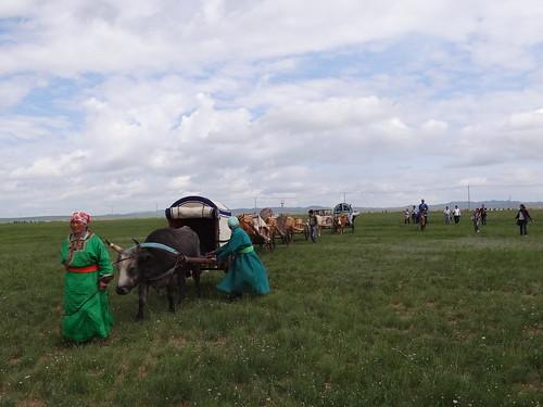 牧民依季節在草場間遷移。圖片來源:浩畢斯嘎拉圖