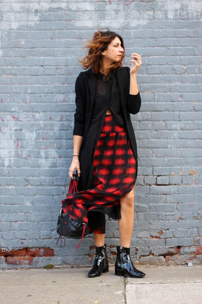 IMG_7244, plaid, plaid skirt, volcom, alexander wang, nordstrom