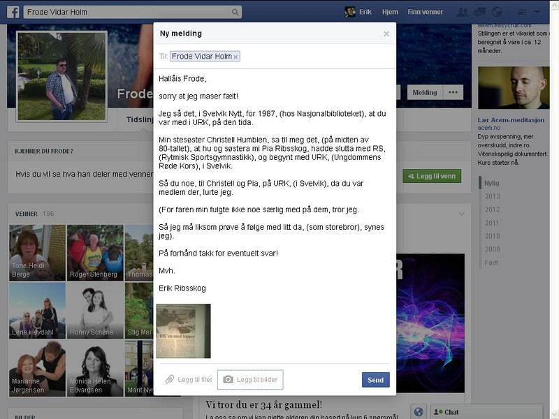 facebook holm