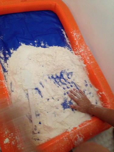 Sensory Flour Play