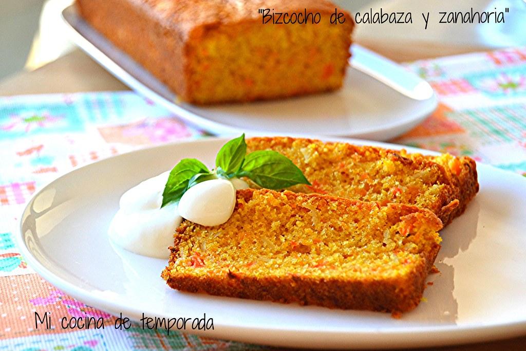 Bizcocho de calabaza y zanahoria 014