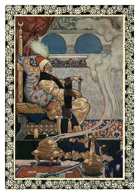 003-Rubáiyát of Omar Khayyám-1913- Ilustrado por René Bull