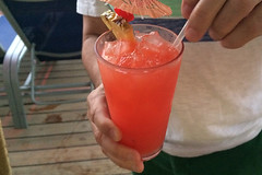 Carnival Inspiration - Drinks Tequila Sunrise