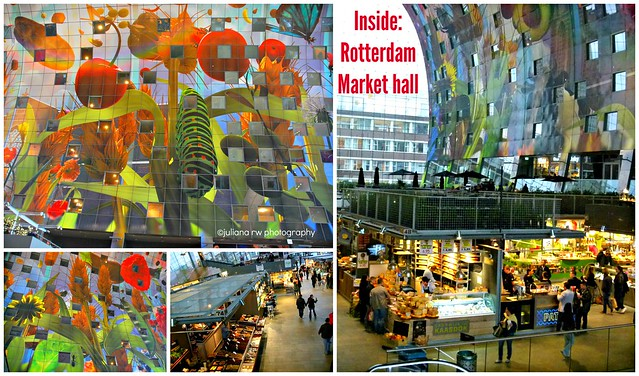Inside Rotterdam Market Hall
