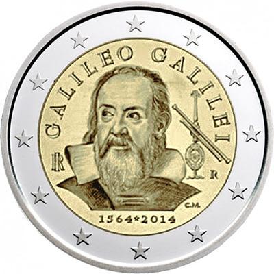 2 Euro Taliansko 2014, Galileo