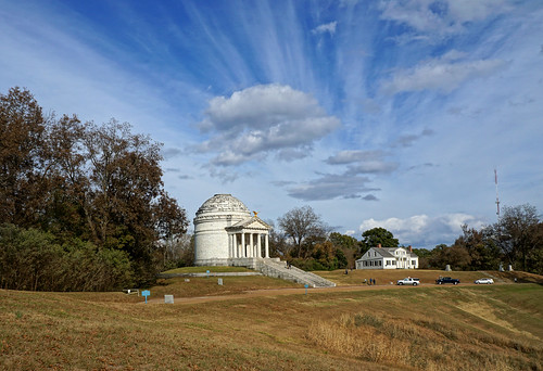 The Illinois Monument in the Vicksburg National Military Park