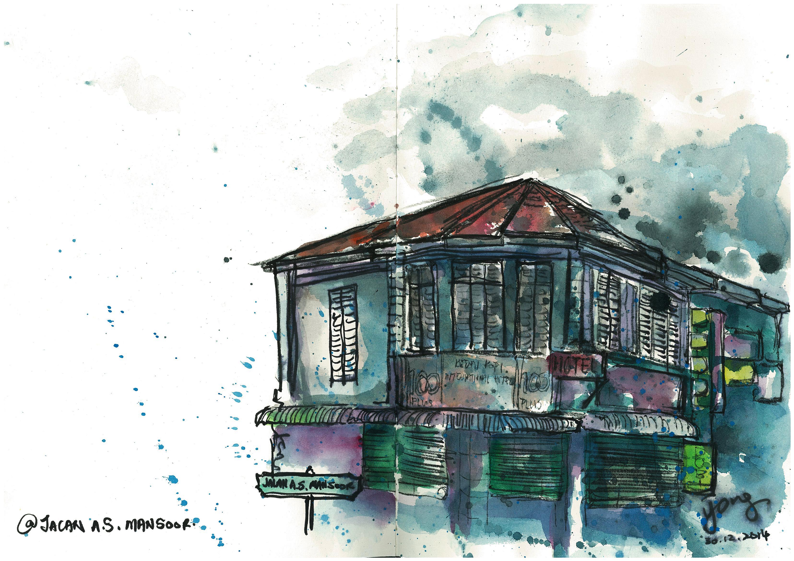 sketch@jalan a.s. mansoor