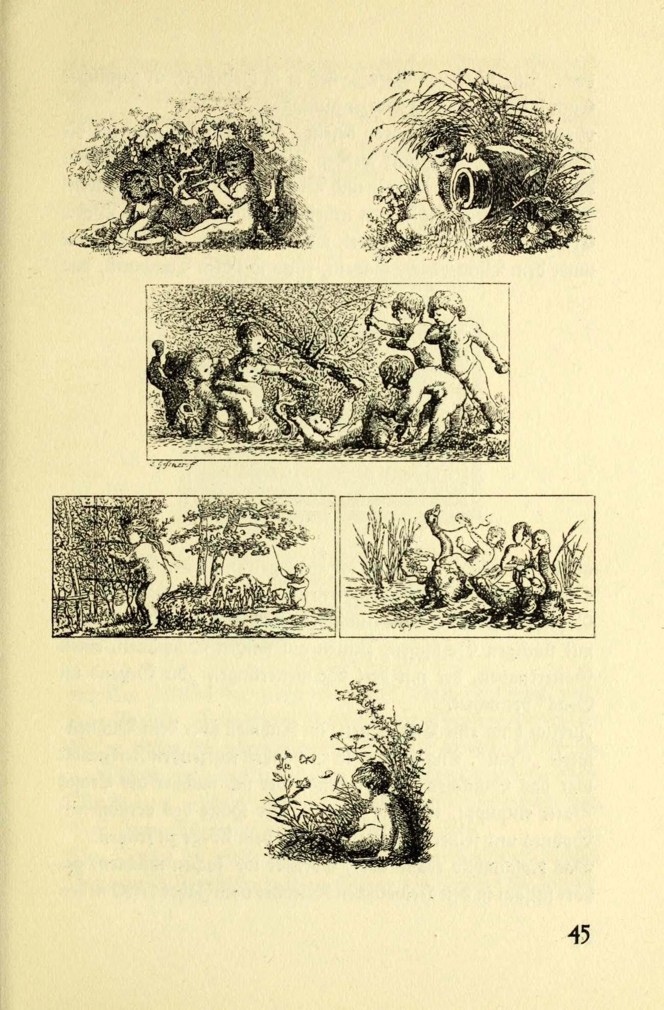 Daniel Chodowiecki in Hg. Olga Amberger, Zeitgenossen Chodowieckis. Lose Blätter schweizerischer Buchkunst, Rhein-Verlag, Basel 1921, Seite 45