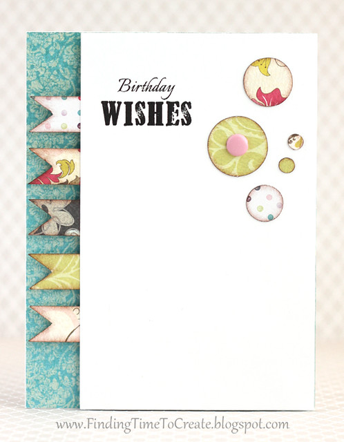 Birthday wishes card by Kelly Wayment