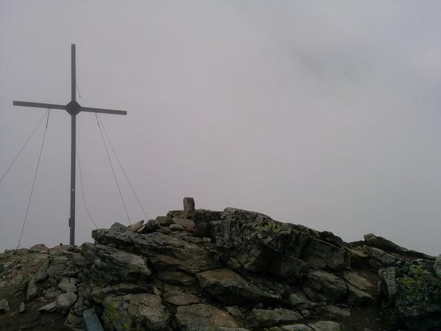 Gipfelkreuz Vermoispitze 2.929 m Latsch, Vinschgau