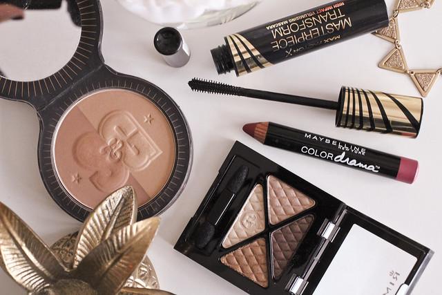 drugstore party makeup look