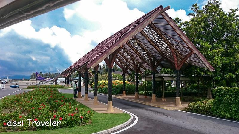 Koh Samui Airport local design for airport buildings