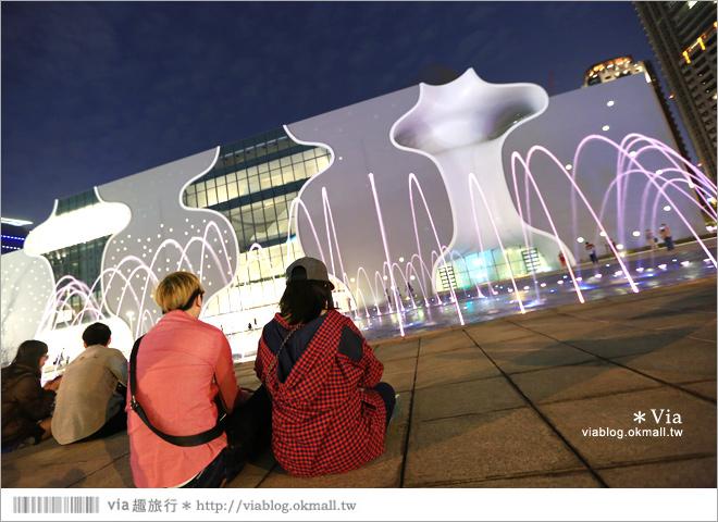 【大都會歌劇院】台中國家歌劇院~夜間水舞篇。光舞紀/光影藝術節14