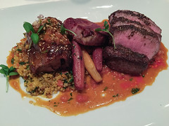meal, corned beef, steak, veal, pork chop, rib eye steak, sirloin steak, beef tenderloin, food, dish, cuisine, venison, roast beef, lamb and mutton,