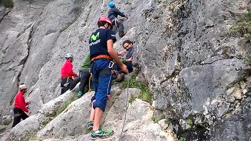 Curso de escalada deportiva Aula Vertical 4