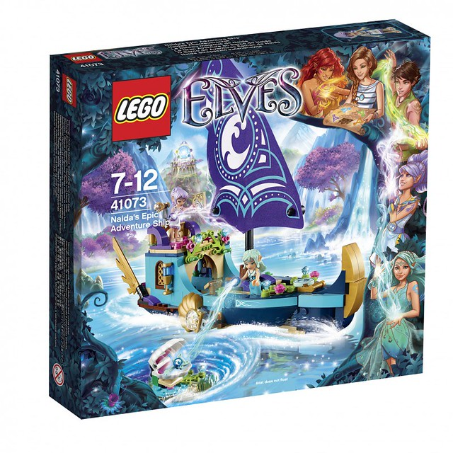LEGO Elves 41073 - Naida's Epic Adventure Ship