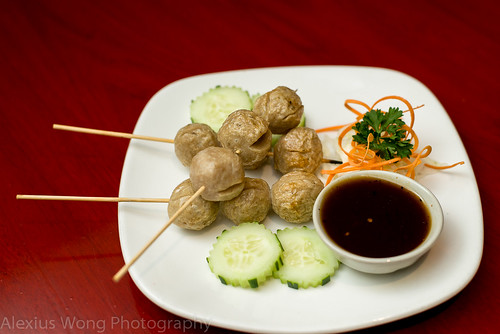 Look Chin Ping - Grilled Meat Balls