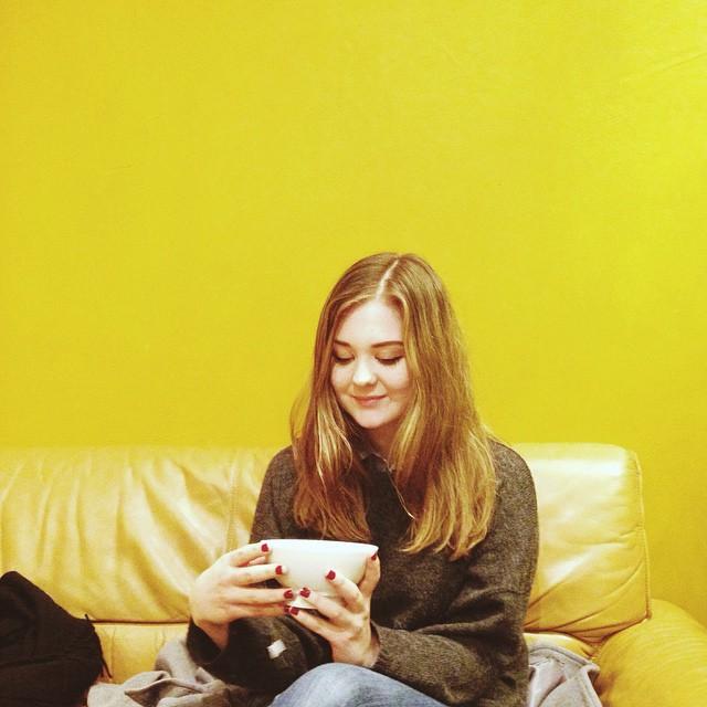 @thelabyrinthine og te. ☕️👌 #bradame