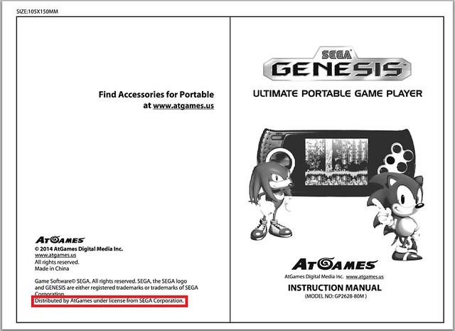 The new Sega handheld (probably not what you are thinking) | NeoGAF