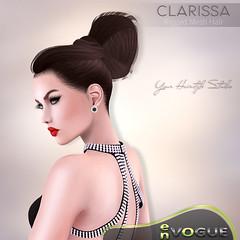 NEW  Hair  -  CLARISSA  - enVOGUE