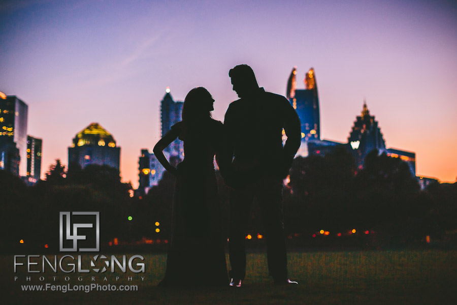 Atlanta Muslim Pakistani Engagement Session Piedmont Park