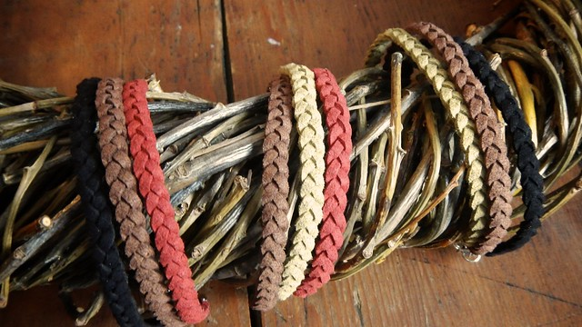 Braided Suede Bracelet 11