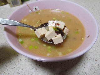 Miso Soup with Tofu and Dulse