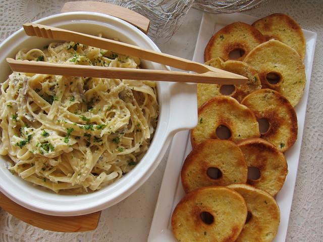 Yummy pasta at #blissmakerie2014