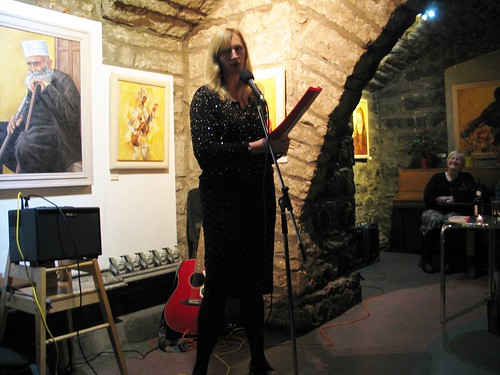 "Shore Poets vs Be The First To Like This ""Quiet Slam"" for Book Week Scotland: Patricia Ace"