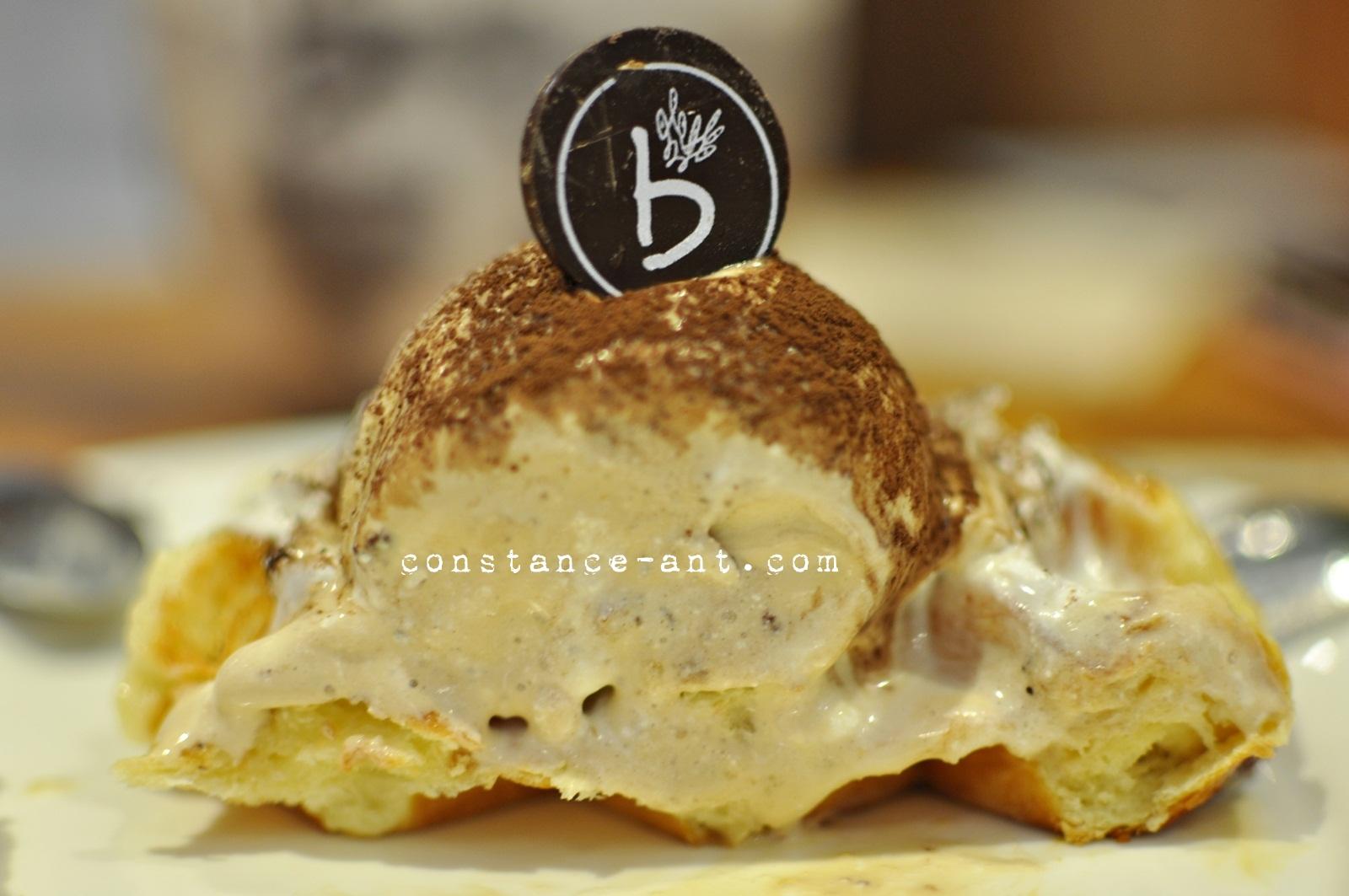 Tiramisu Waffle | RM 15