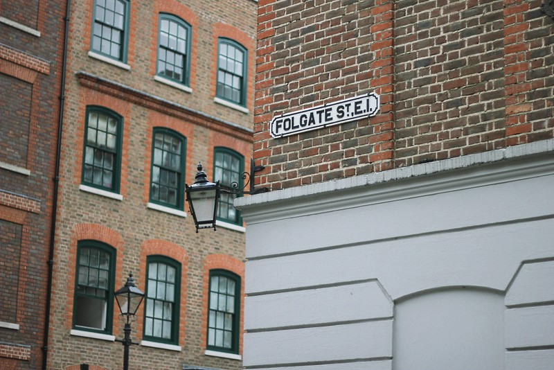 folgate street sign