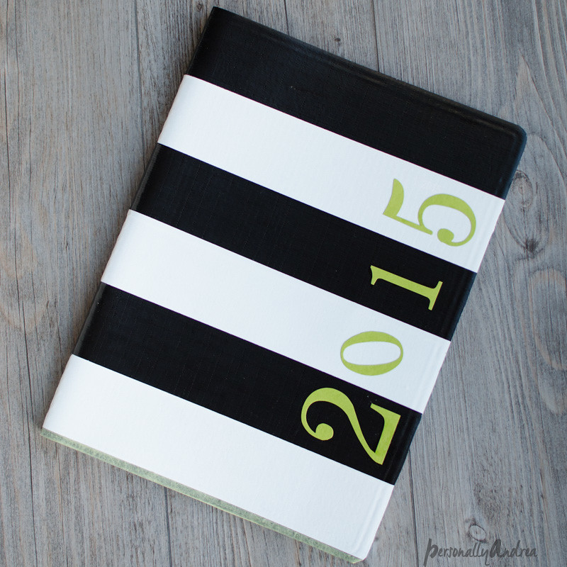 Kate Spade Inspired Planner using Duck Tape