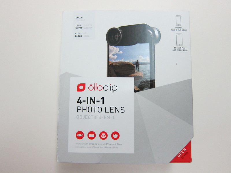 Olloclip 4-in-1 Photo Lens for iPhone 6/6 Plus - Box Front