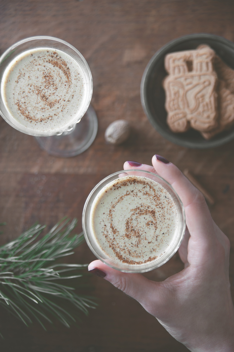 "Raw/vegan ""eggnog"""