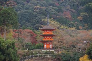 073 Uitzicht bij Kiyomizutempel