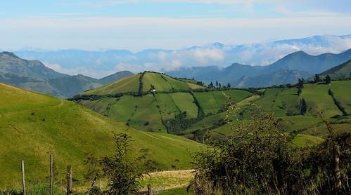 foot ecuador hills andes