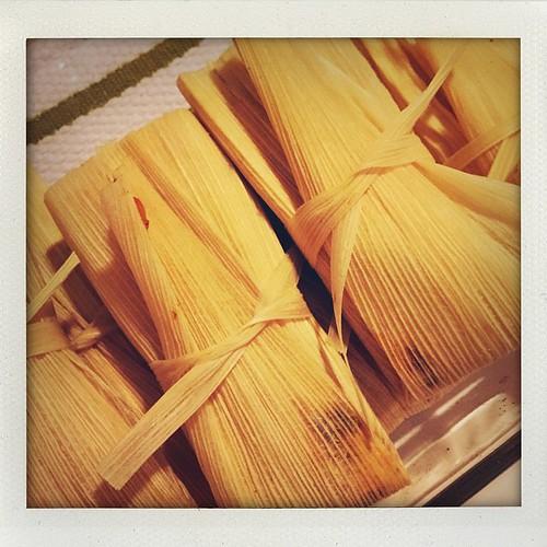 Christmas Eve tamales